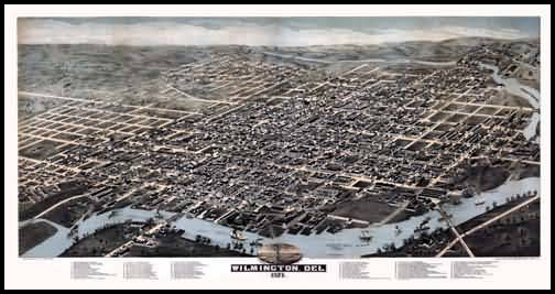 Wilmington Panoramic - 1874